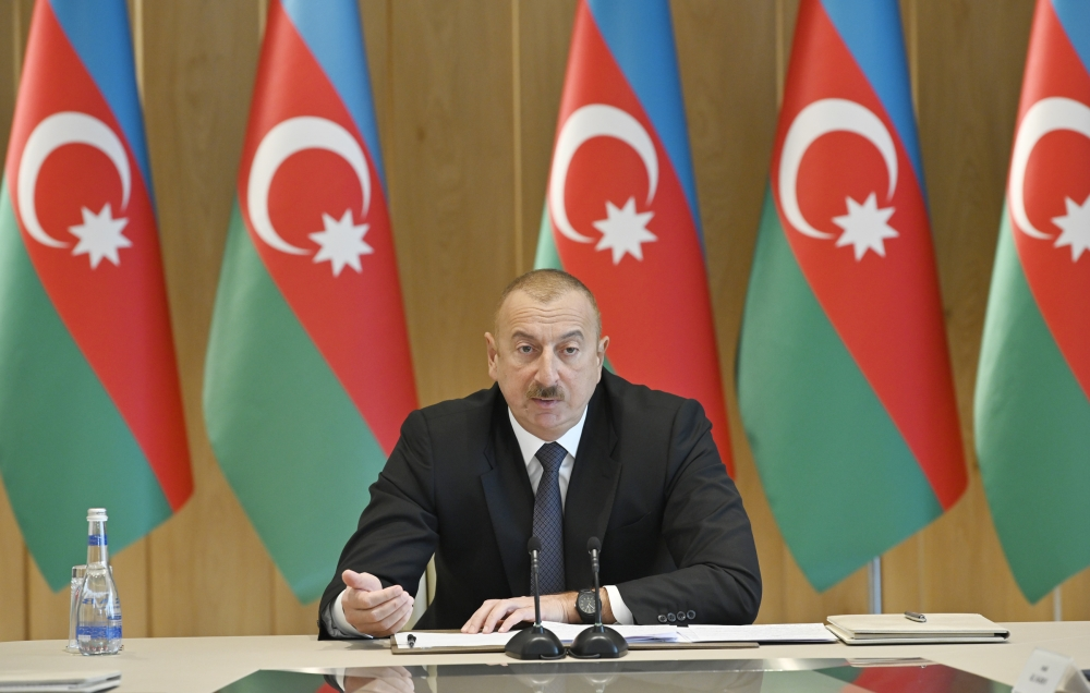 President Ilham Aliyev chaired meeting on results of 2019 VIDEO