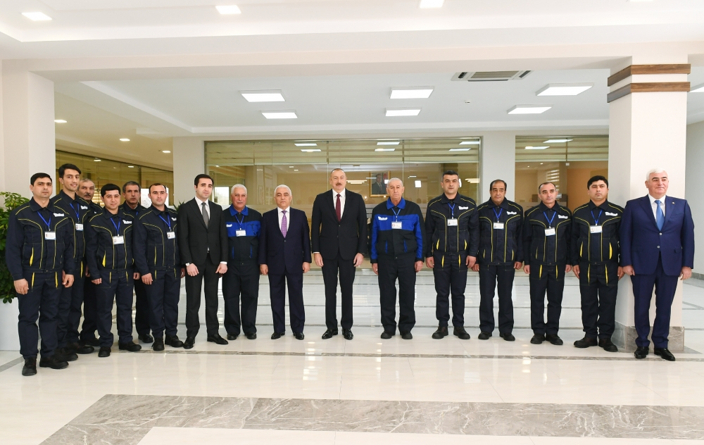President Ilham Aliyev attended opening of Dubandi substation owned by AzerEnergy OJSC VIDEO