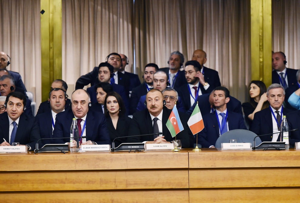 Rome hosted Azerbaijan-Italy business forum  VIDEO