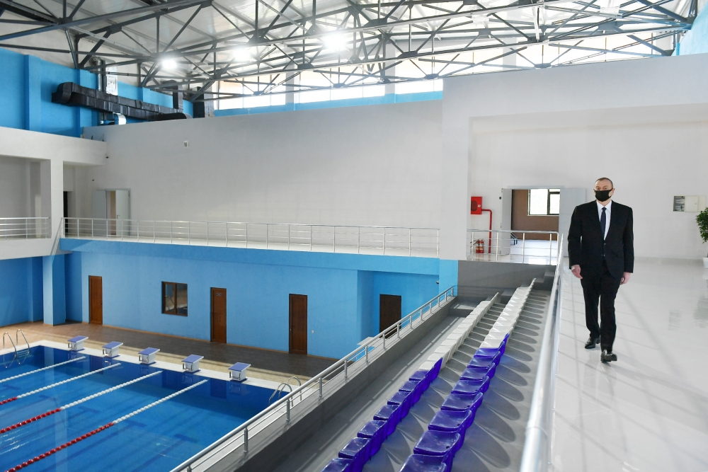 President Ilham Aliyev attended opening of Tartar Olympic Sports Complex VIDEO