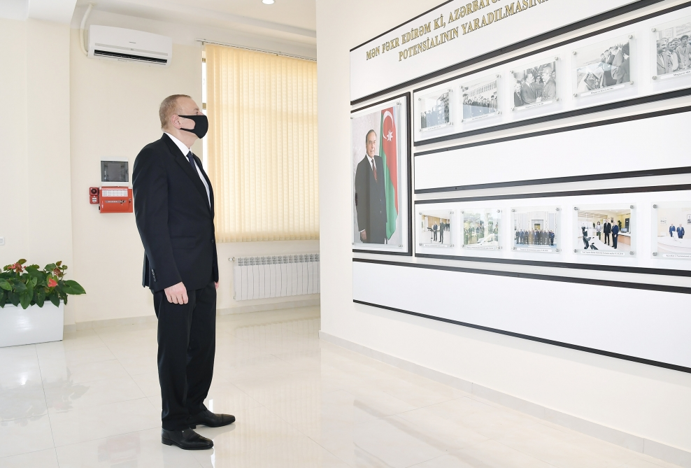 "President Ilham Aliyev launched newly renovated ""Tartar"" power substation VIDEO"