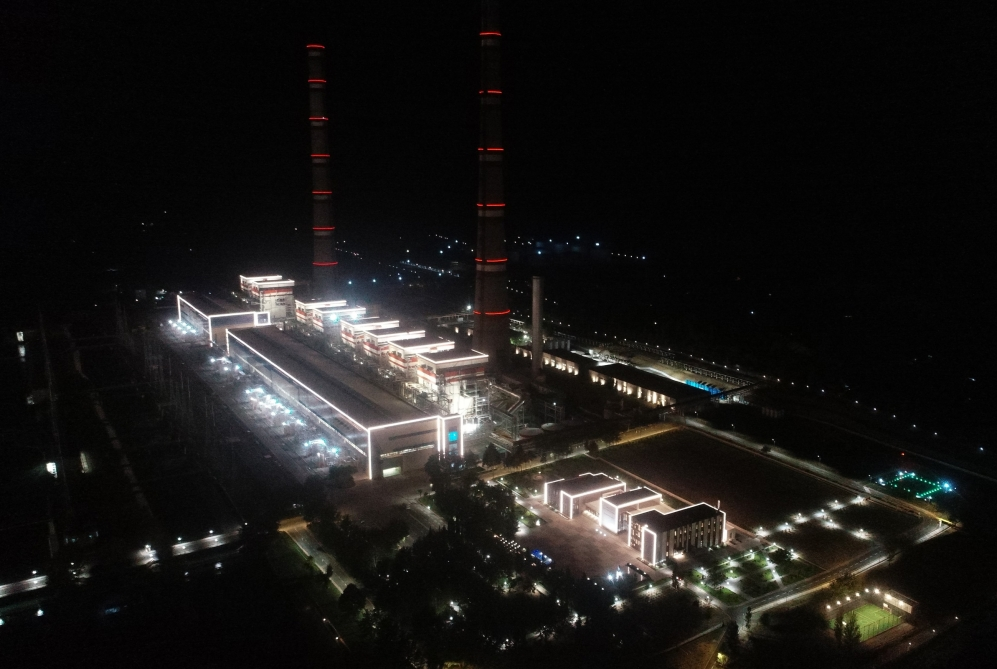 """Azerbaijan"" Thermal Power Station was launched after major overhaul VIDEO"