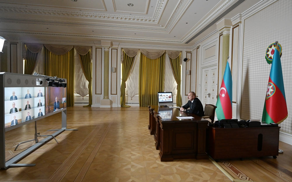 President Ilham Aliyev chaired Cabinet meeting on results of socio-economic development in first quarter of 2020 and future tasks VIDEO