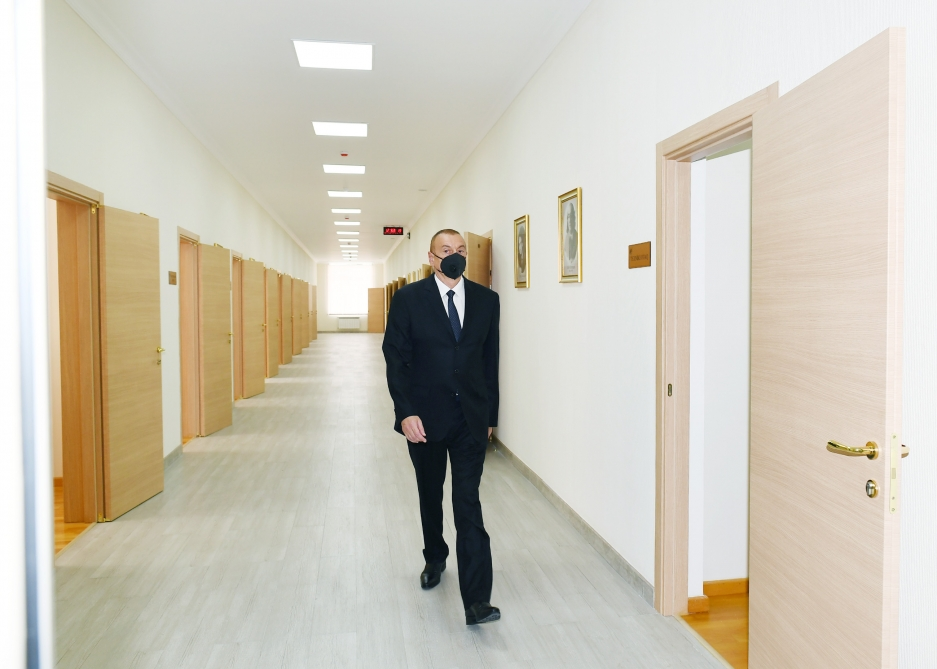 President Ilham Aliyev attended inauguration of new building of Balakan City Children's Art School VIDEO