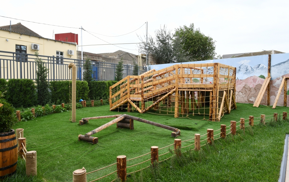 New building of kindergarten No.212 inaugurated in Shaghan settlement  First Vice-President Mehriban Aliyeva attended the event VIDEO