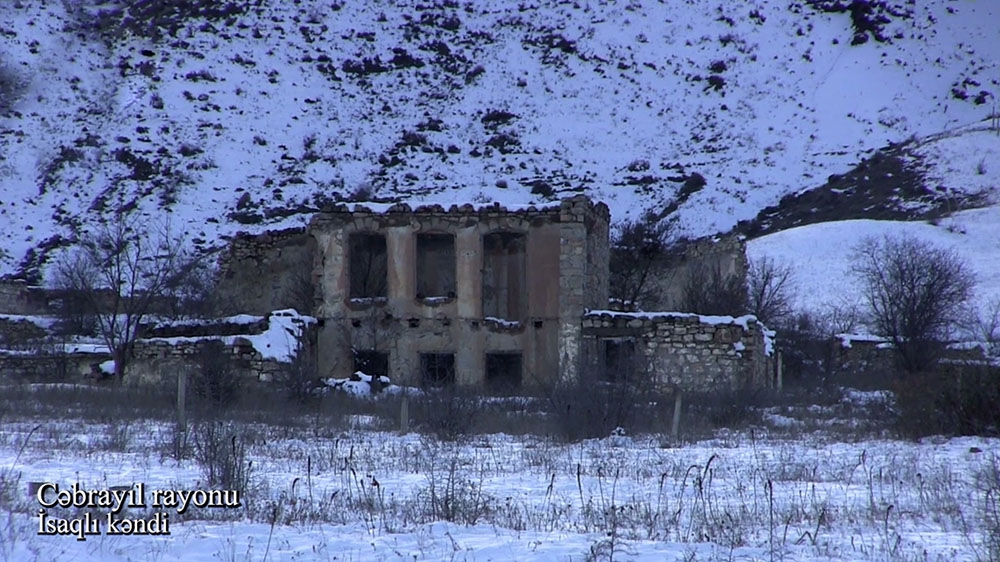 Azerbaijan's Ministry of Defense releases video footage of Isagli village of Jabrayil district VIDEO