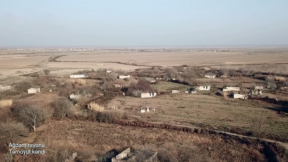Azerbaijan's Defense Ministry releases video footages of Tarnoyut village, Aghdam district VIDEO