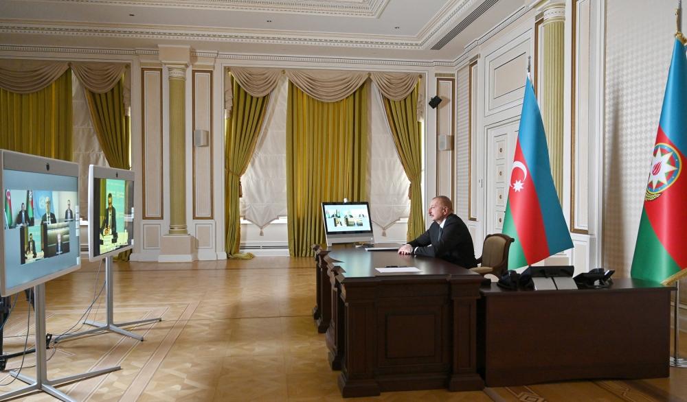 Azərbaycan Prezidenti İlham Əliyevin Ümumdünya Səhiyyə Təşkilatının Baş direktoru ilə videokonfrans formatında görüşü olub