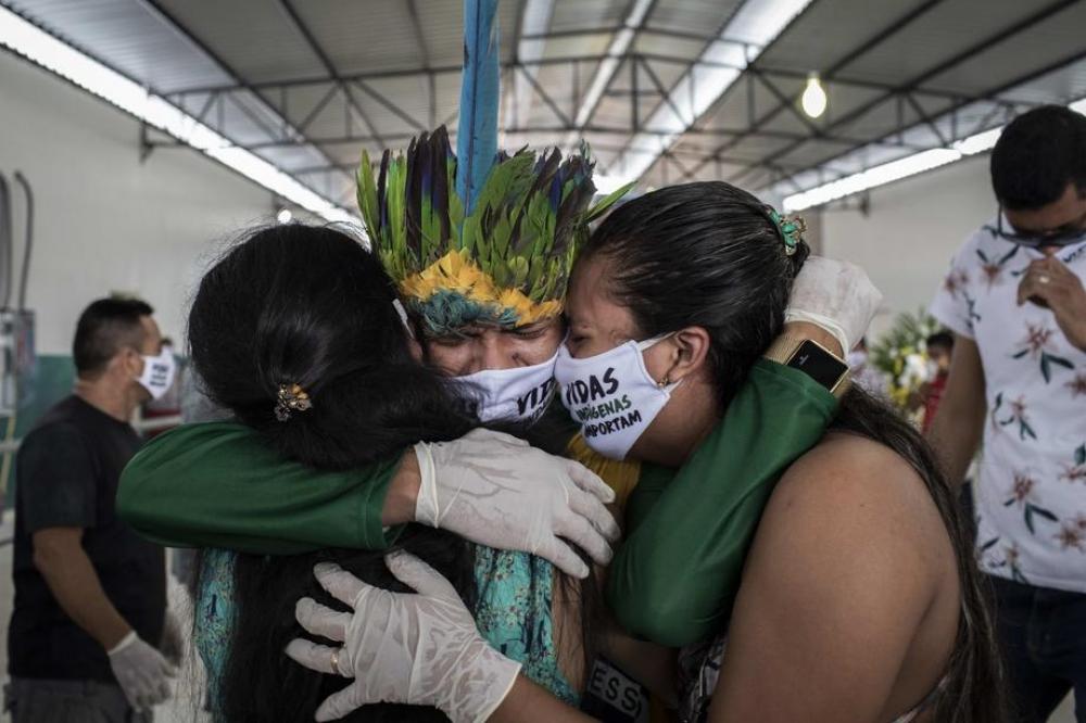 Braziliya COVID-19-dan ölüm sayına görə antirekorda imza atıb