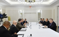 President Ilham Aliyev met with chairman of US-based Foundation for Ethnic Understanding and religious leaders in New York