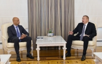 President Ilham Aliyev received NATO Secretary General`s Special Representative for Caucasus and Central Asia