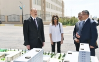President Ilham Aliyev inaugurated Gobu Park residential complex for IDPs in Garadagh district