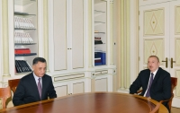 President Ilham Aliyev received Ramil Usubov on his appointment as Secretary of Security Council