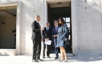 President Ilham Aliyev viewed building designed to host Azerbaijan Culture Center in Rome