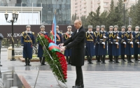 President Ilham Aliyev attended ceremony to commemorate Khojaly genocide victims