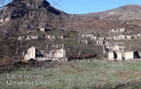 Video footage of the Garygyshlag village of Lachin region